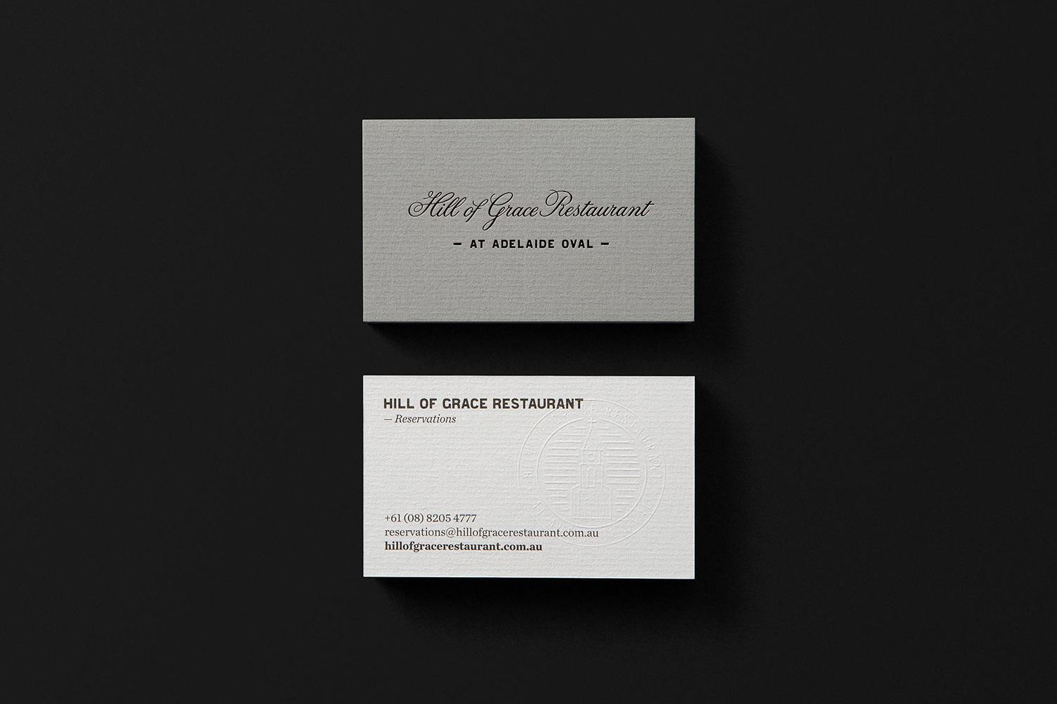 New Brand Identity For Hill Of Grace Restaurant By Band Bp O