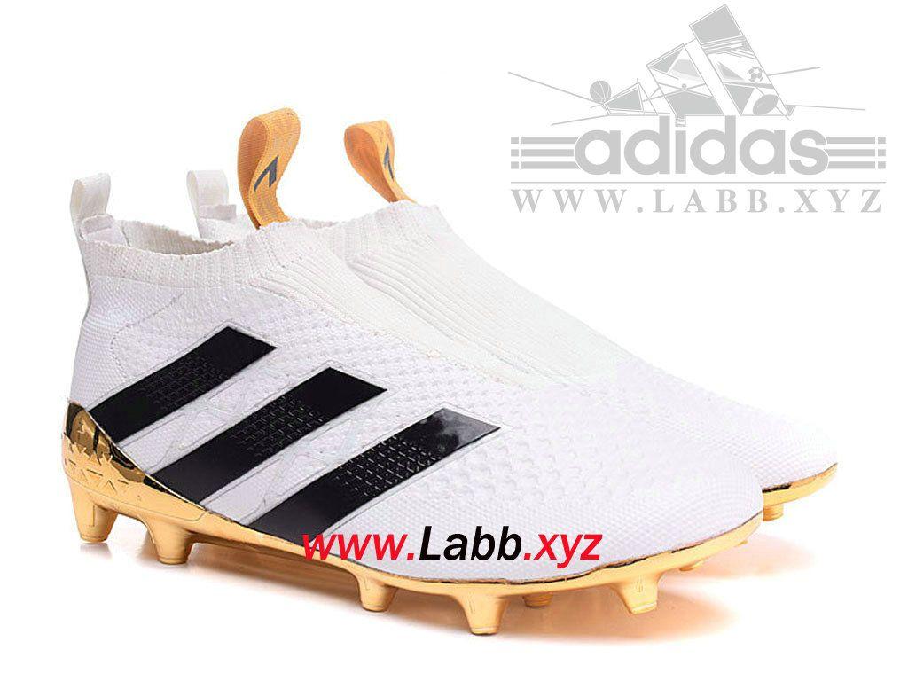 Blancor Terrain Chaussure Football Purcontrol Souple 16 Adidas Ace nP0xS76