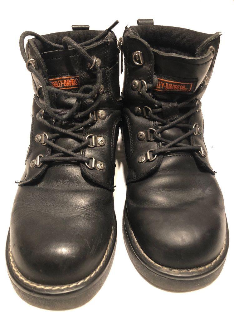 1d12bceded4 Harley Davidson Mens Boot Sz.9m Black #fashion #clothing #shoes ...