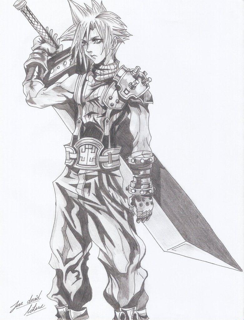 Final Fantasy 7 Fan Art | Final fantasy vii, Final fantasy, Final ... | 1022x781