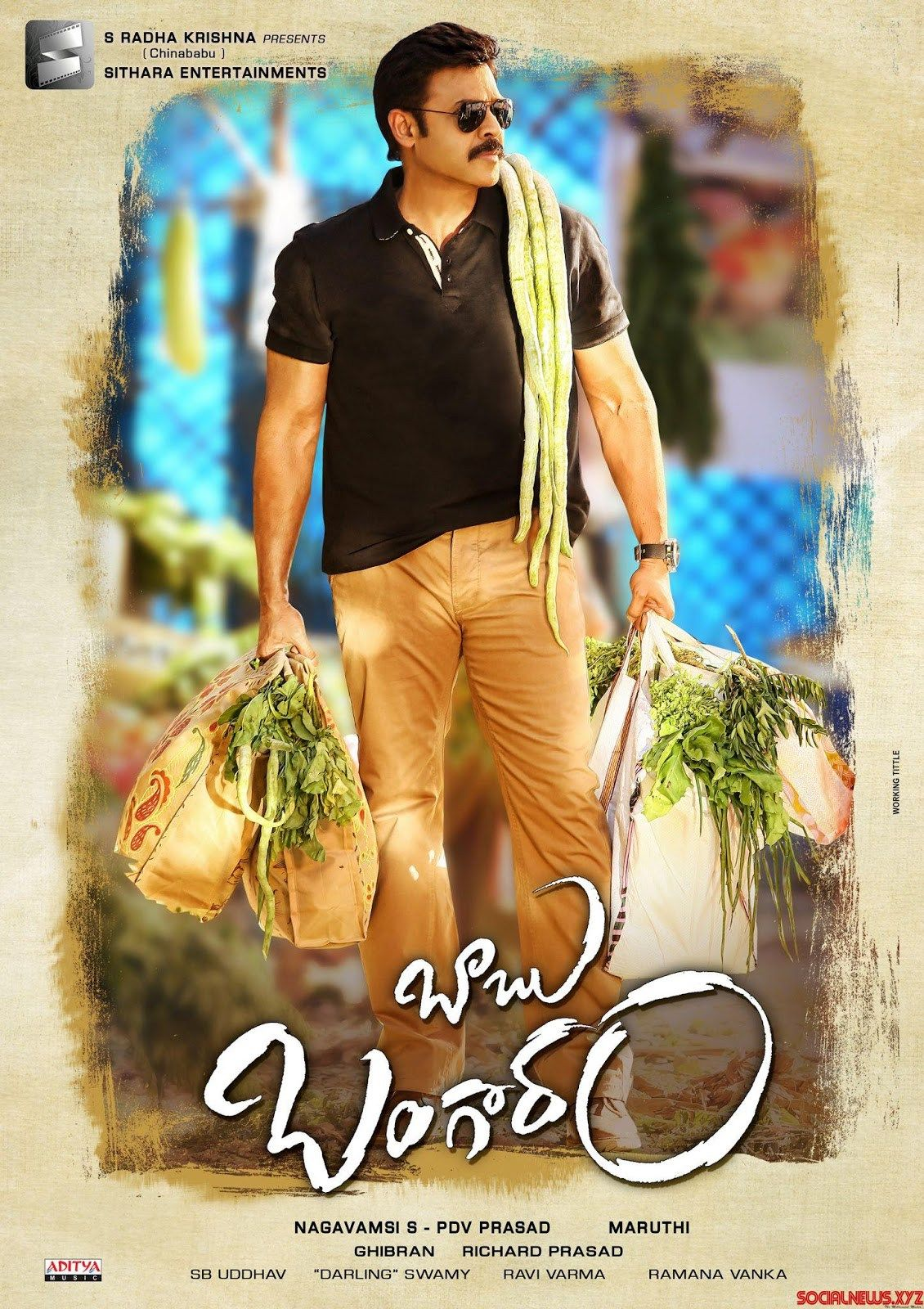 Babu Bangaram 2016 UNCUT HDRip 480p 400MB Hindi – Telugu MKV