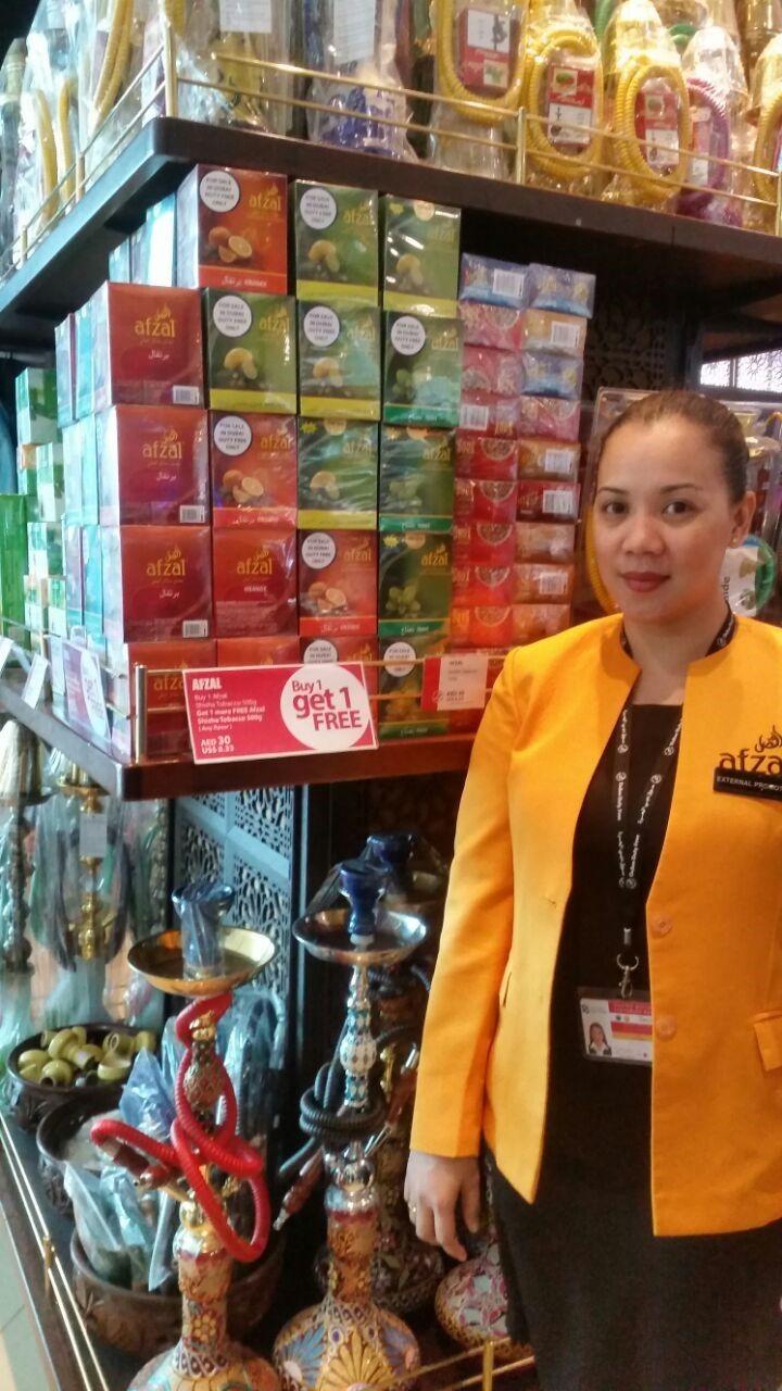 Buy your favourite AFZAL hookah flavour a Dubai Duty Free