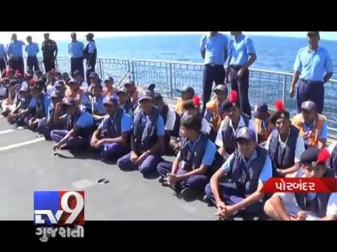 In an initiative to intensify the interaction between the National Cadet Corps (NCC) and the Indian Navy, NCC cadets were provided the opportunity to learn war fighting techniques.  Subscribe to Tv9 Gujarati https://www.youtube.com/tv9gujarati Like us on Facebook at https://www.facebook.com/tv9gujarati Follow us on Twitter at https://twitter.com/Tv9Gujarat Follow us on Dailymotion at http://www.dailymotion.com/GujaratTV9 Circle us on Google+ : https://plus.google.com/+tv9gujarat