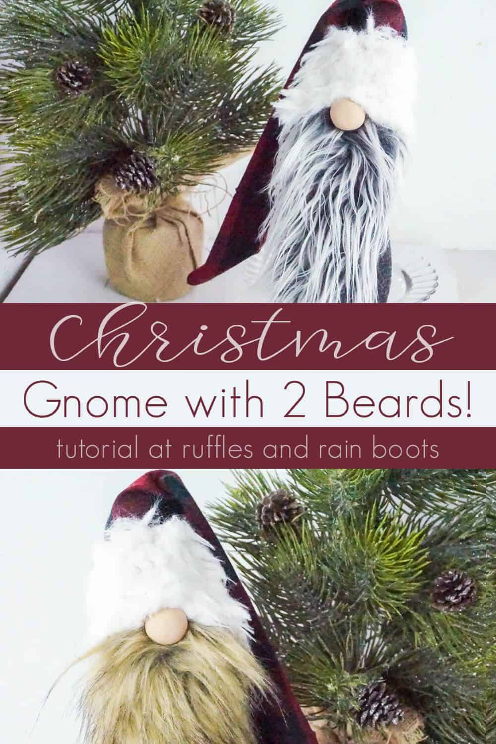 This Lumberjack Christmas Gnome is so Easy, You Can Make