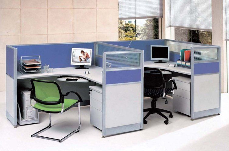 Short Wall Cubes With Color Office Partition Quality Office Furniture Office Design
