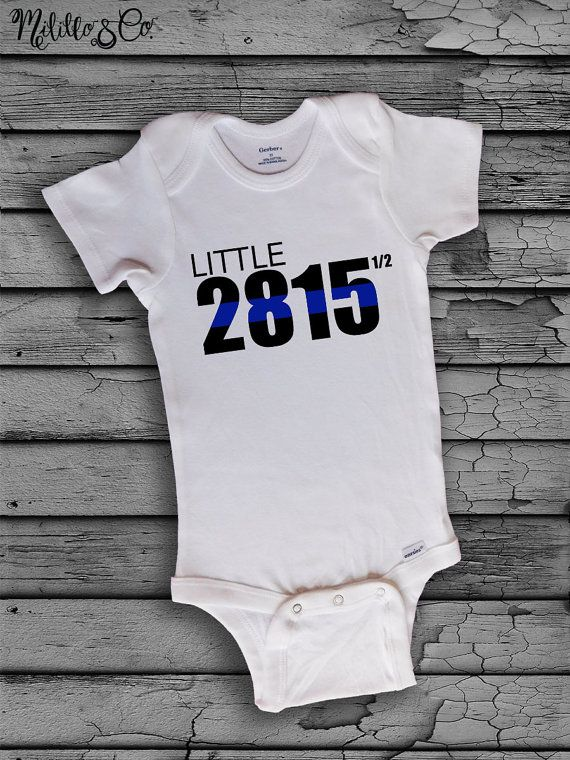 7e01795a5 Personalized Little Custom Police Thin Blue Line by MililloAndCo ...