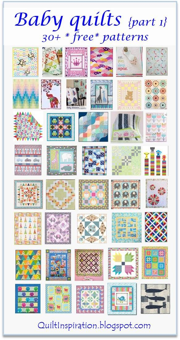 Free Pattern Day Baby Quilts Part 1 Quilting Pinterest