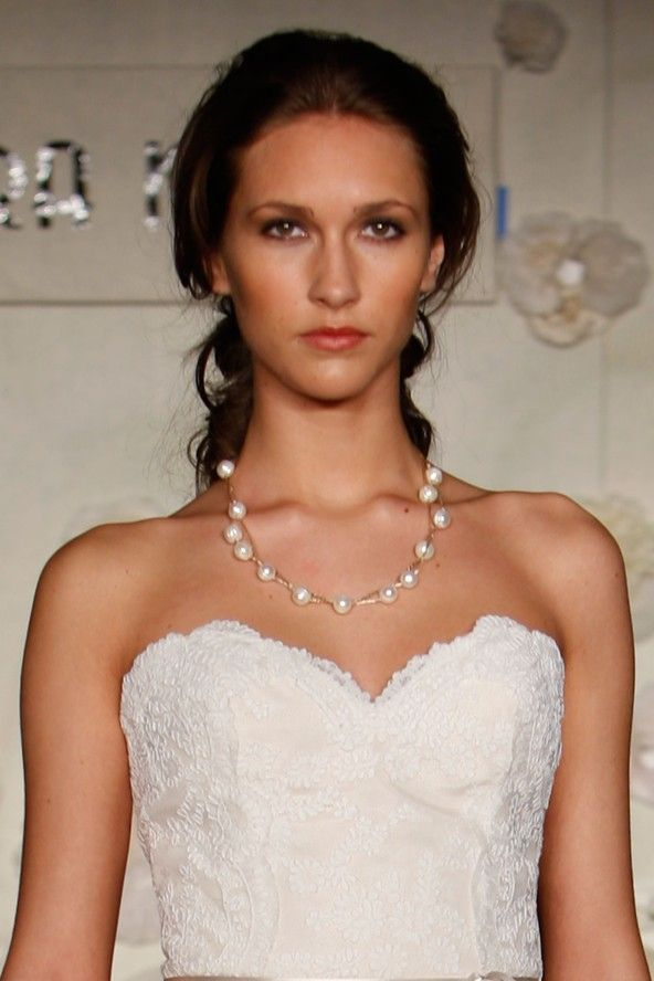 Low soft pony | Wedding guest hairstyles, Bride hairstyles, Wedding hairstyles