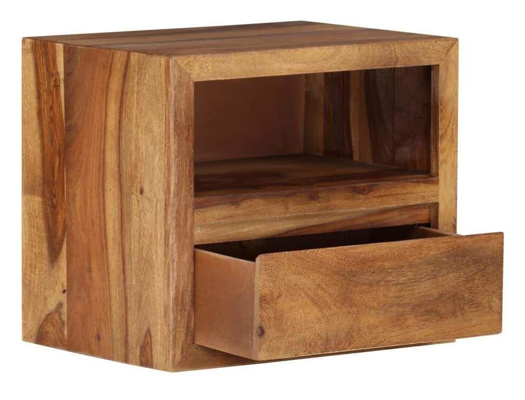 Table De Nuit Chevet Commode Armoire Meuble Chambre Bois
