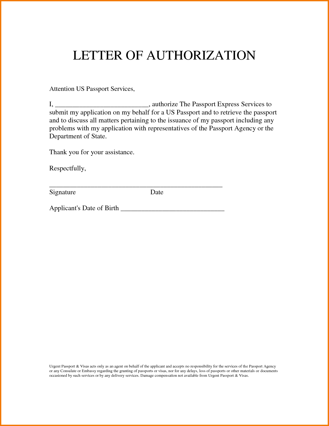 Authorization Letter Sample Pick Atm Motor Vehicle