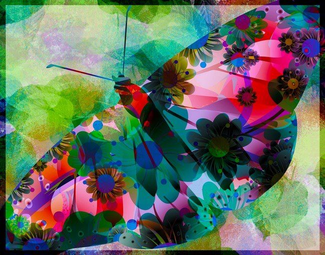 Transform Yourself - into the Beautiful, Creative and Colorful Being that You Are!  Colorful Pure Artistic
