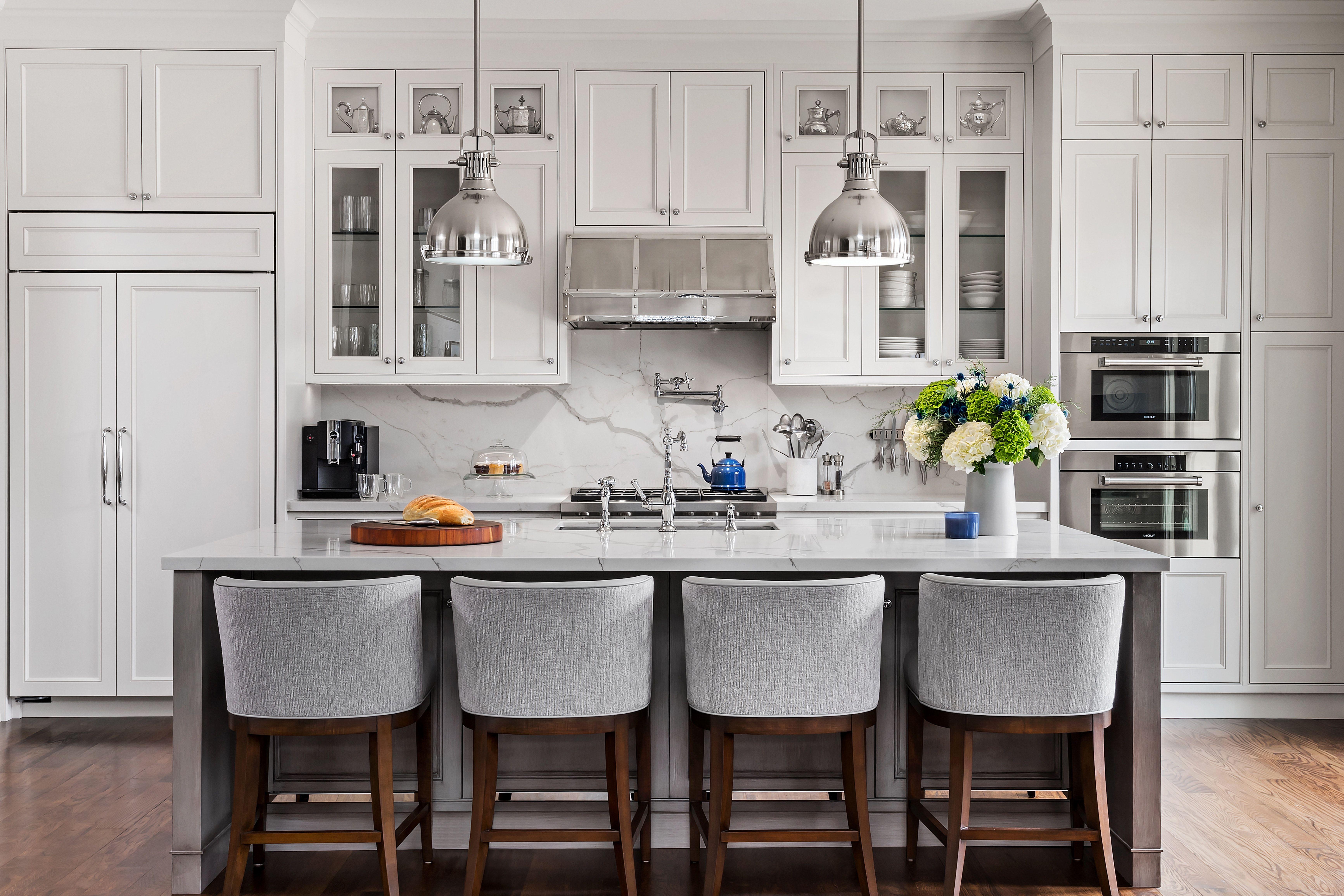 Chestwood Residence Custom Kitchen New Kitchen Cabinets Kitchen Remodel Small Trendy Kitchen