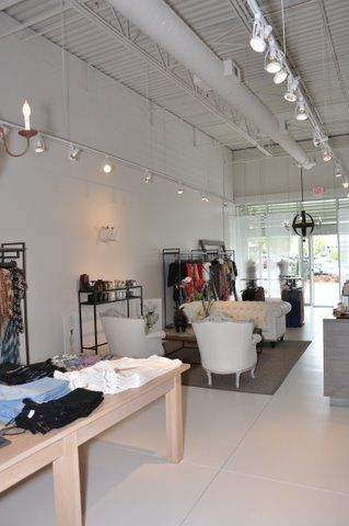 Track Lighting Retail Boutique Build Out Atlanta Ga