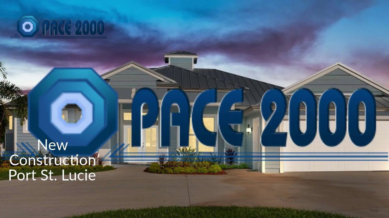 New Home Construction Port St. Lucie Florida Pace 2000