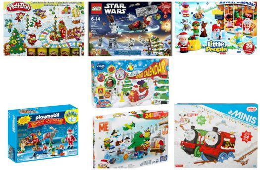 7 Fun Toy Advent Calendars For Kids Toy Advent Calendar Advent