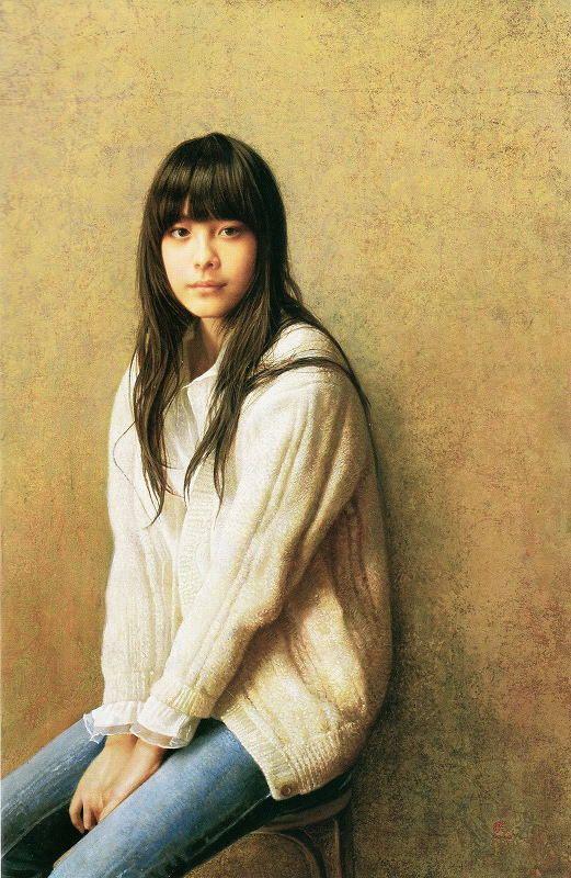 李 暁剛(Ri Shaogan) 「白いカーディガン」