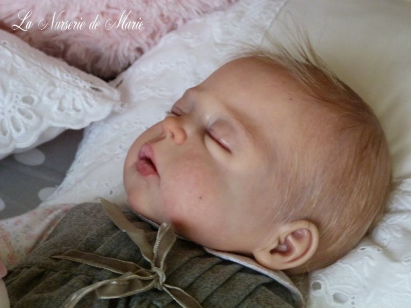 New Reborn Baby Doll Kit Cameron By Sheila Michael@LDC Soft Line Full Body *GIRL