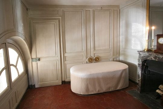 This is Versailles Petit Trianon Bathroom of the Duc d\u0027Orlèans