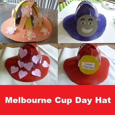 Melbourne Cup Day Hat Arts Amp Crafts For Kids Education