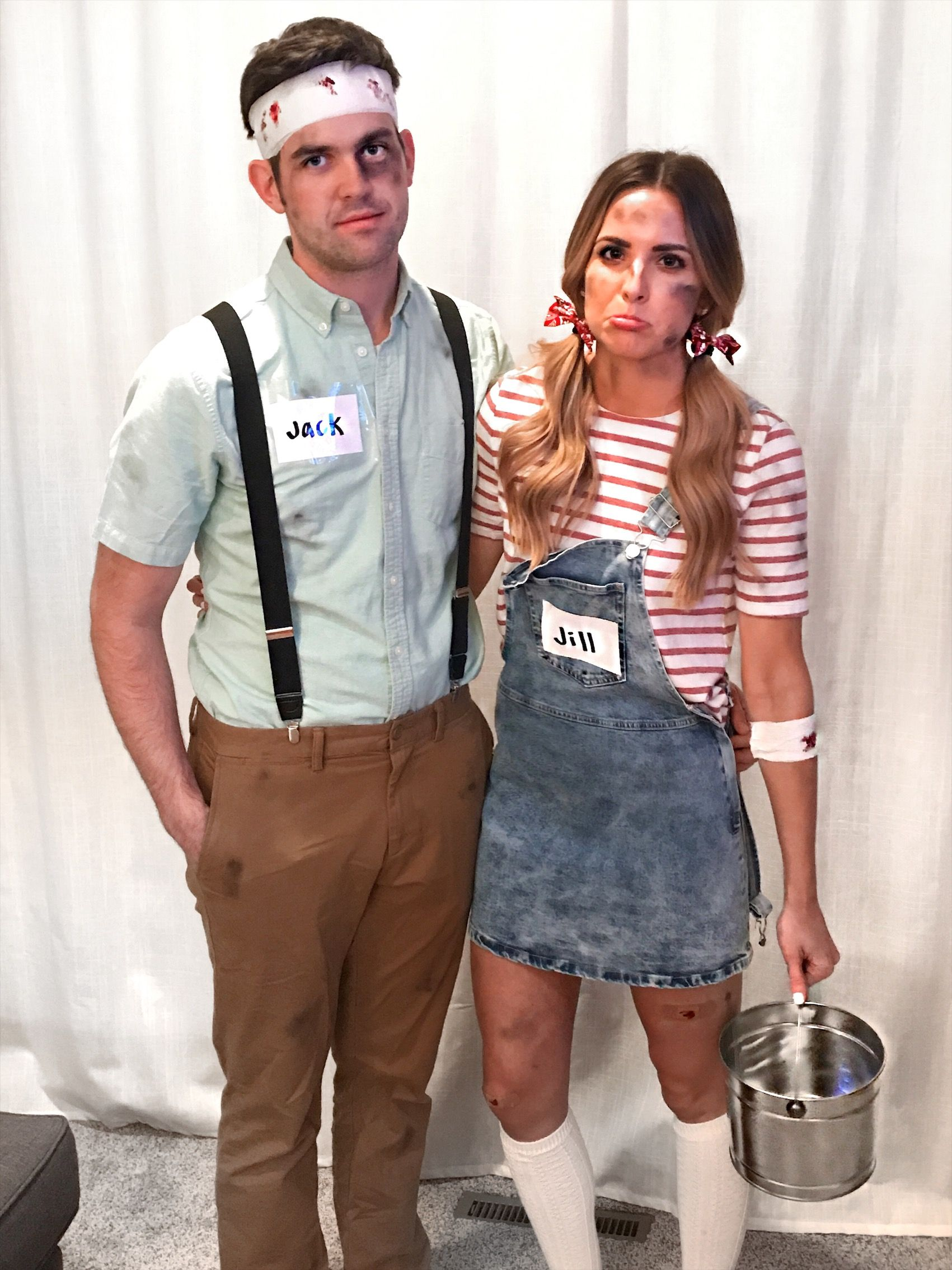 Jack and Jill / Easy Halloween Costume / Couples Costume
