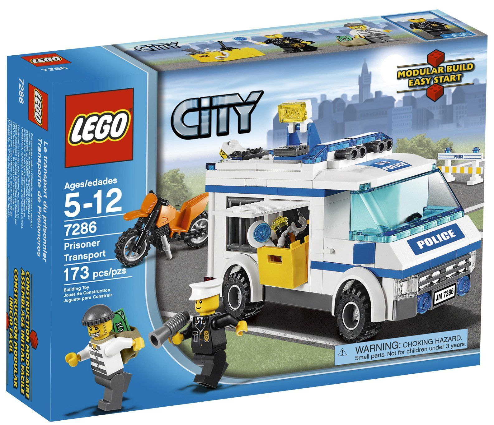 Lego City 7286 Prisoner Transport Brand New and Factory Sealed