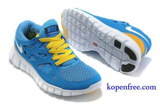 pretty nice b2fda b4127 Kopen goedkoop Schoenen dames nike free run 2 (kleurflirt,inside-blauw