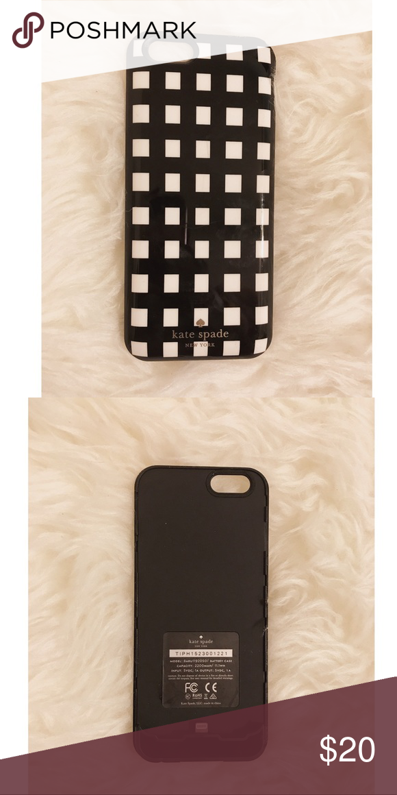 best service 2211e bfb95 Kate Spade IPhone 6/6s battery charging case Kate Spade IPhone 6/6s ...
