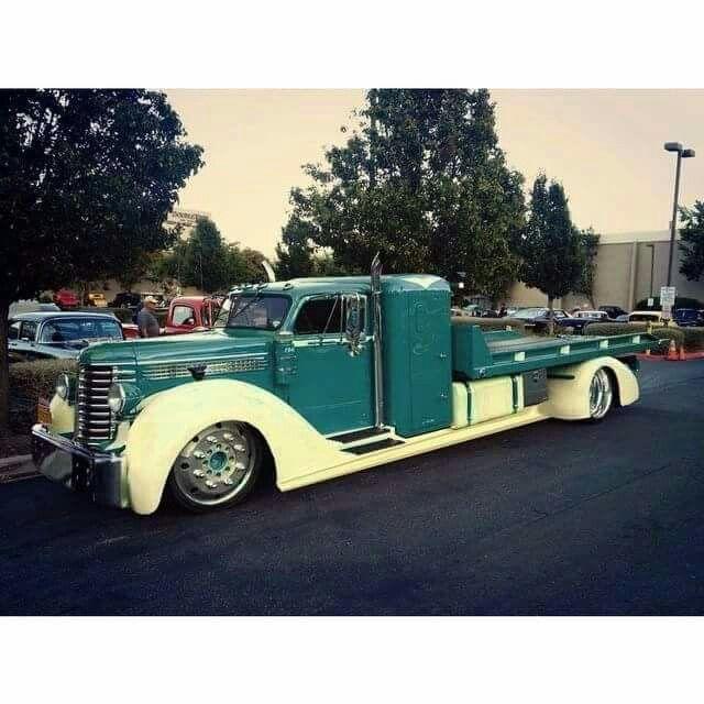 Custom Classic Semi Truck Chevy Trucks Trucks Vintage Trucks