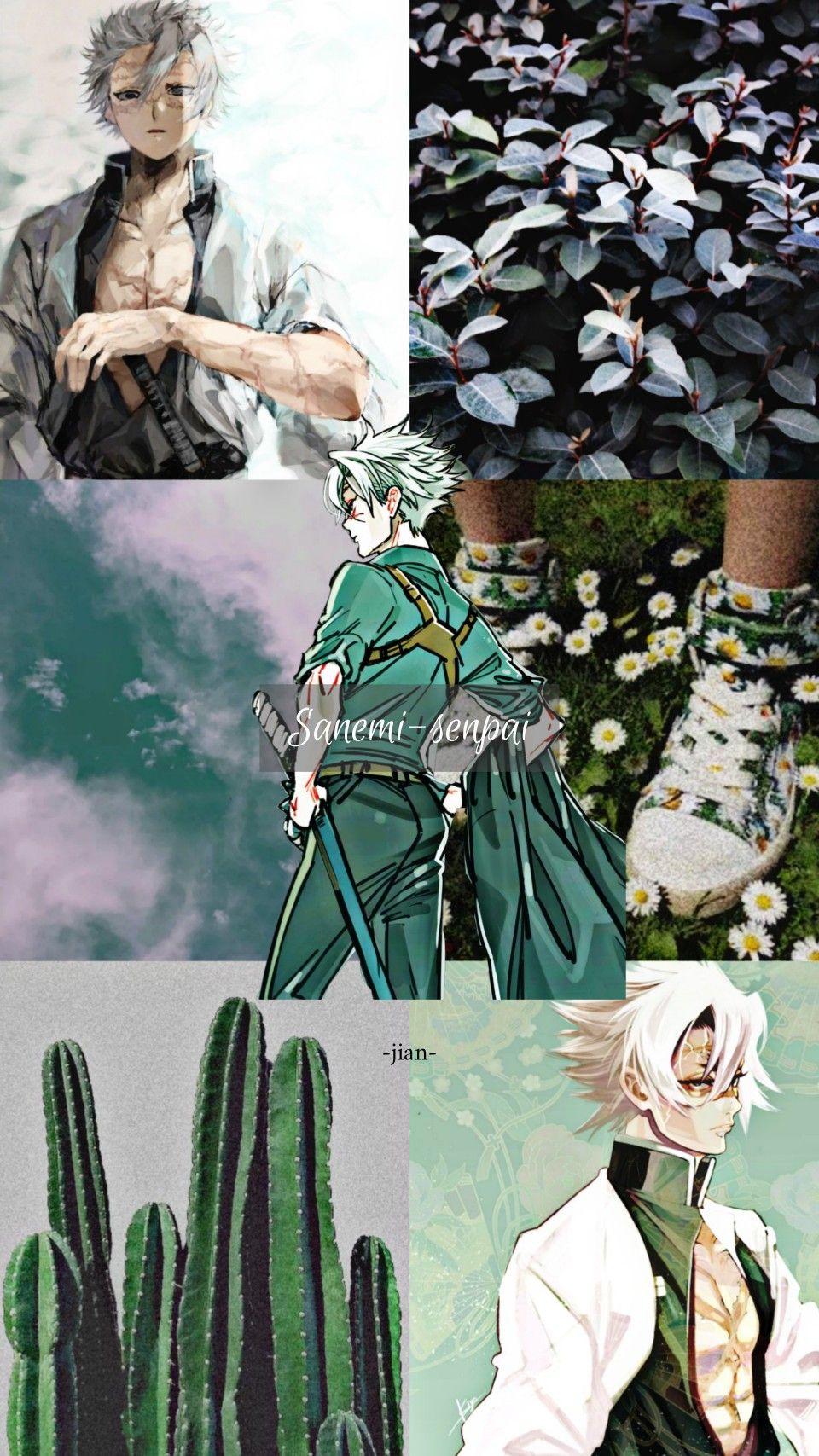 Sanemi Shinazugawa Anime Wallpaper Anime Art