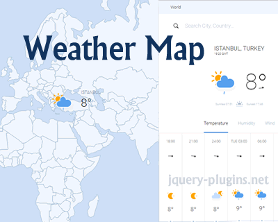 Weather Map Beautiful Dynamically Updated Searchable Maps With