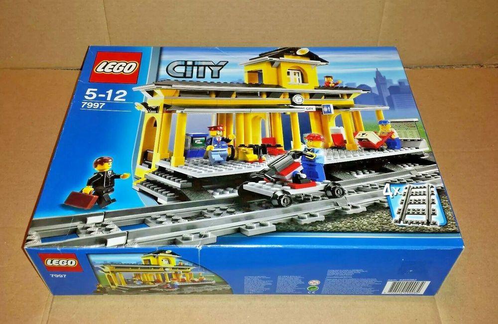 Lego 7997 Jeu De Construction Lego City La Gare Amazon Fr Jeux Et Jouets Lego City Lego Friends Lego