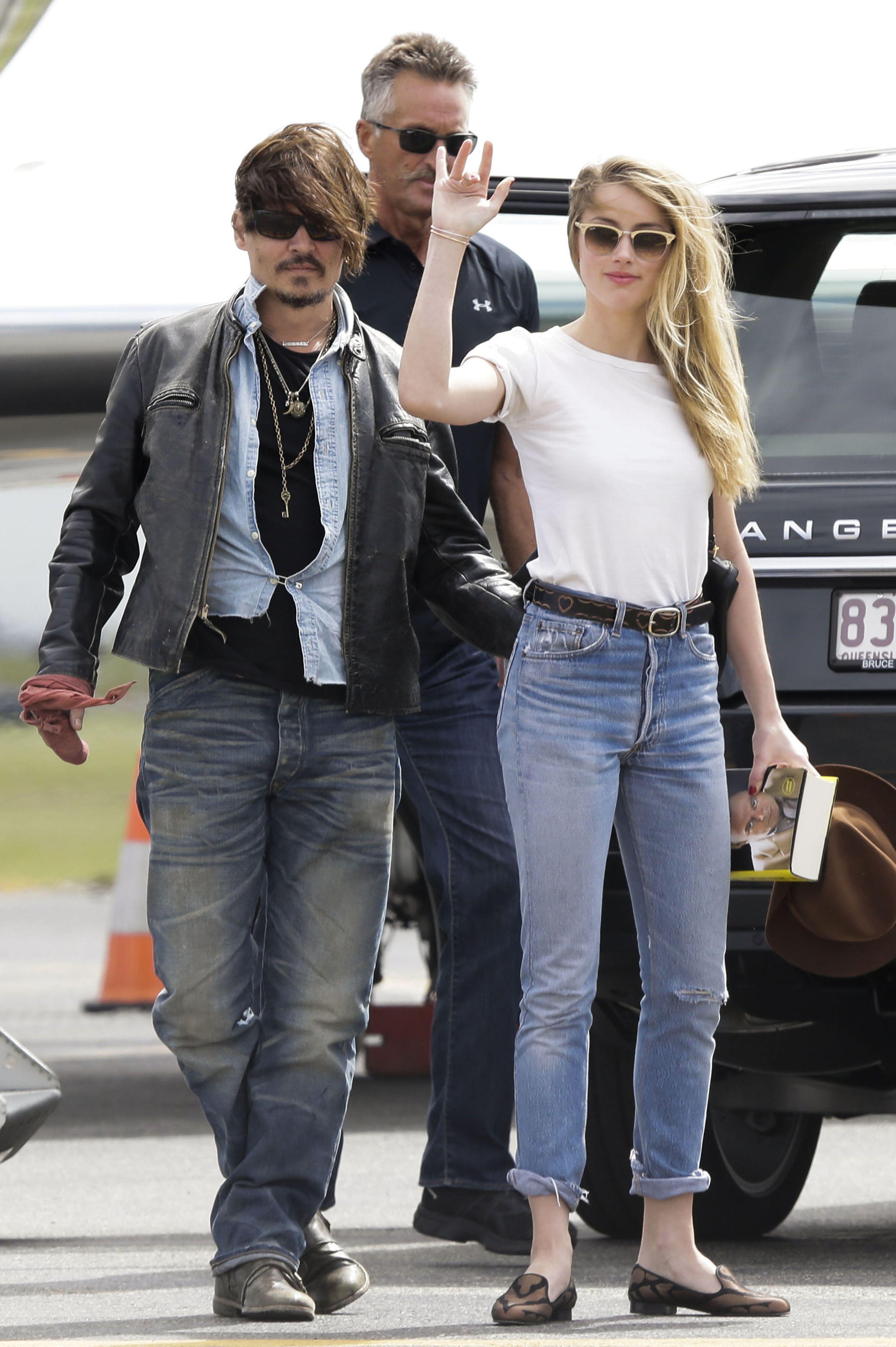 Amber Heard Johnny Depp Wedding 5