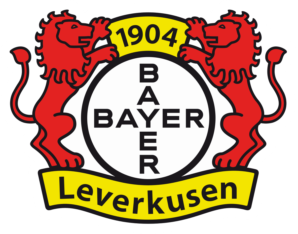 201920 Champions League Map Football logo, Bayer 04