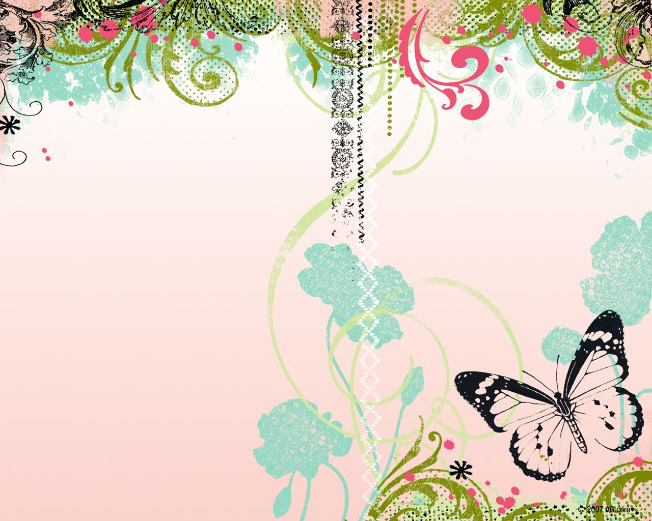 Abstract Butterfly America Greetings Wallpapers
