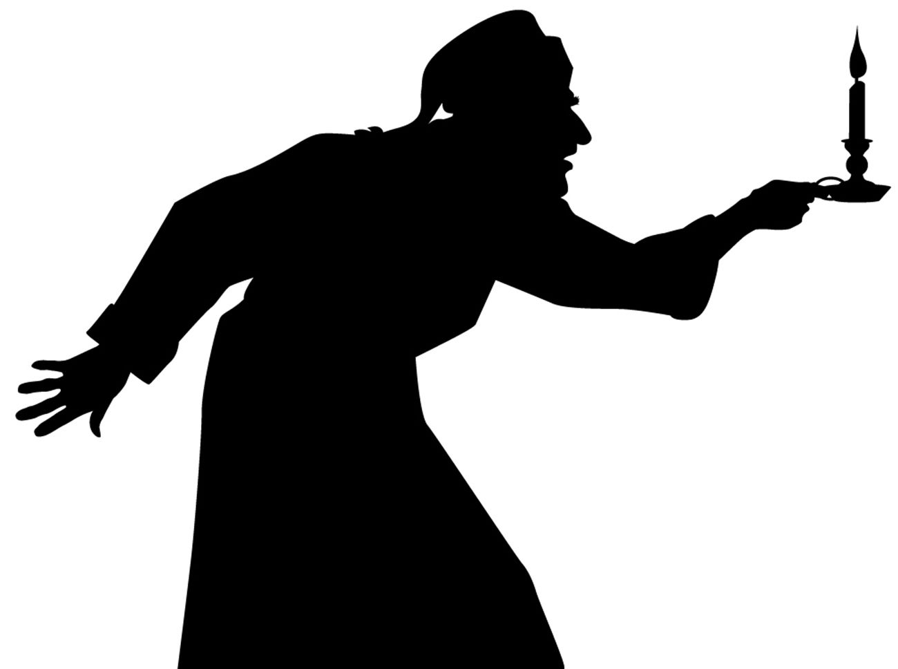 Christmas Carol Scrooge Clipart.Image Result For Free Clipart Silhouettes Of Scrooge Moe