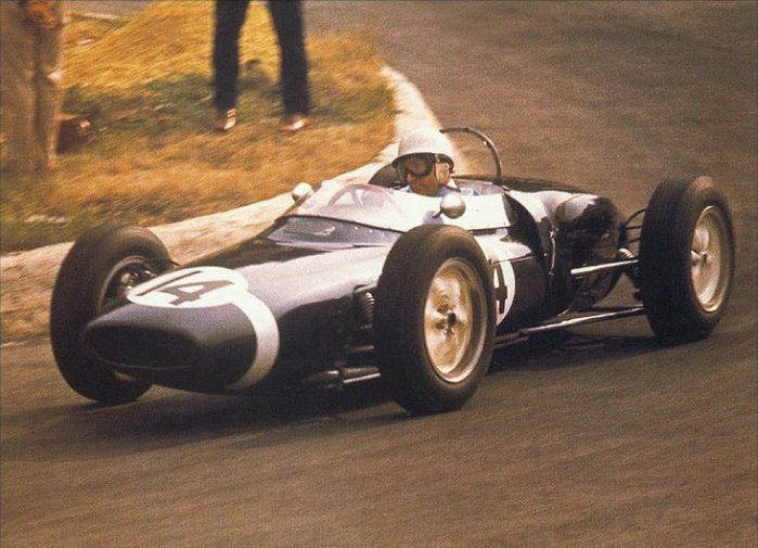 1961 Stirling Moss, Lotus 18-21 Climax