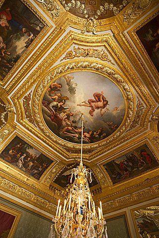 The Queen\'s Noble Salon, Palais de Versailles, UNESCO World Heritage ...