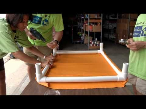 How To Do It Yourself Kuranda Style Dog Beds Great Family Project Outdoor Dog Bed Elevated Dog Bed Pvc Dog Bed
