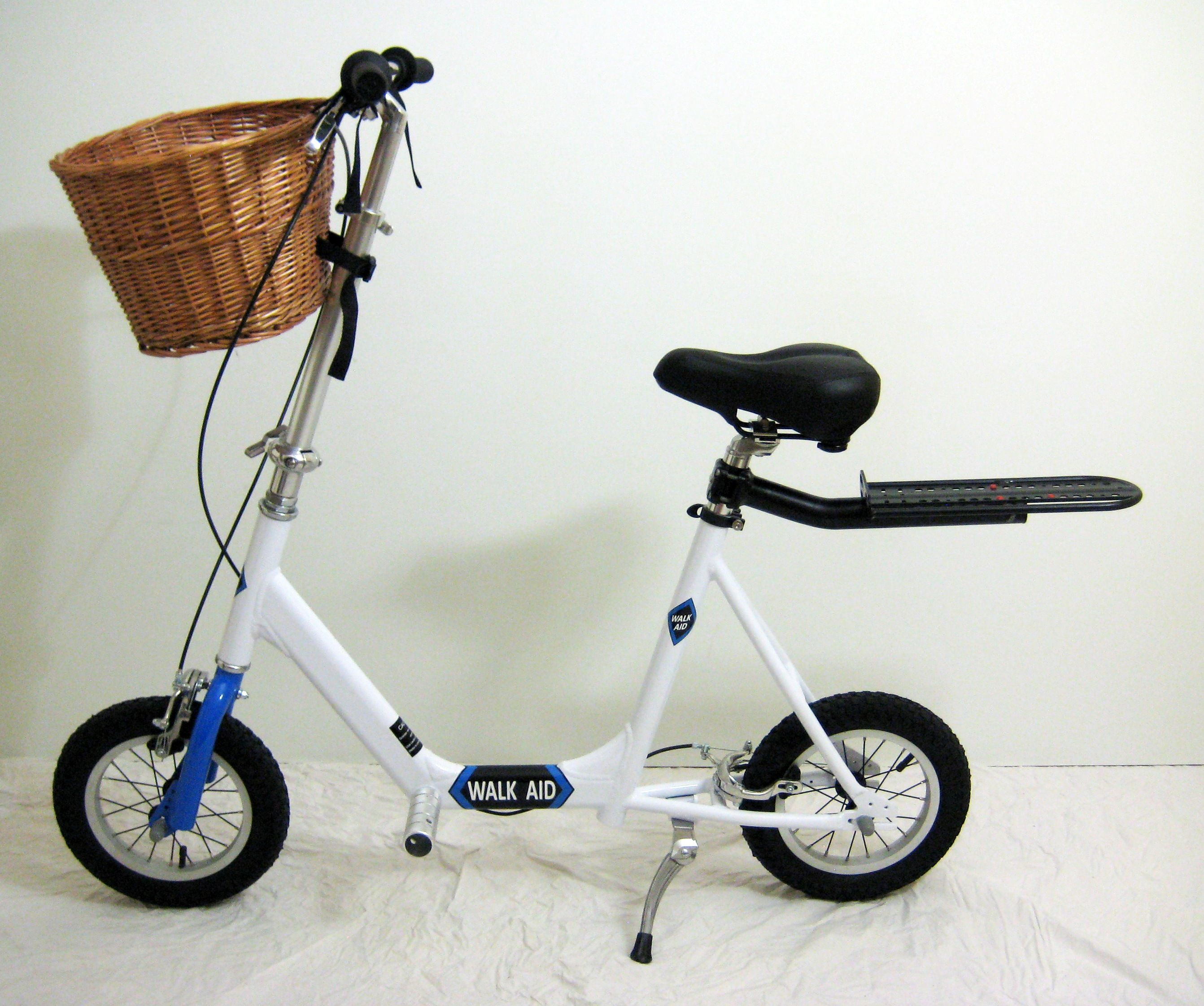 Walking aid by walk aid scooter walking aid a new twist on personal mobility