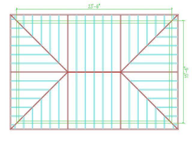 Hip Roof Calculator Roof Framing Hip Roof Design Hip Roof