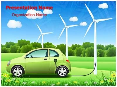 Hybrid Car Powerpoint Template Is One Of The Best Powerpoint