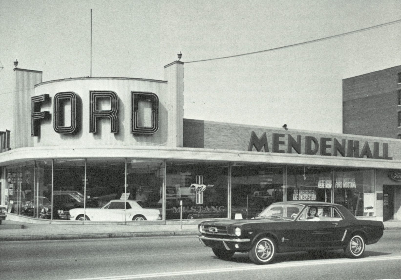 Circa 1964, Ford dealer at 2231 Washington Ave, St. Louis, MO. Now ...