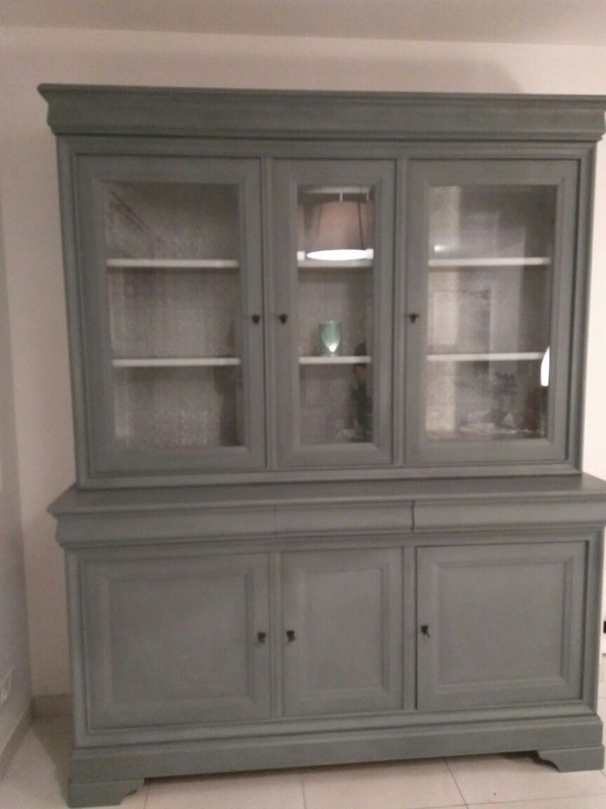 meuble merisier peint best meuble repeint avant apres upcycling peindre et relooker une salle. Black Bedroom Furniture Sets. Home Design Ideas