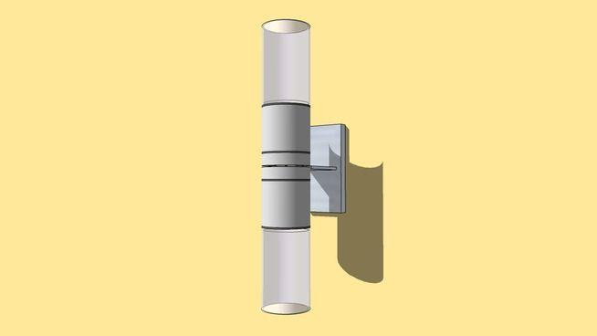 Up/ Down Sconce Light - 3D Warehouse | 3D Lighting: Sconces