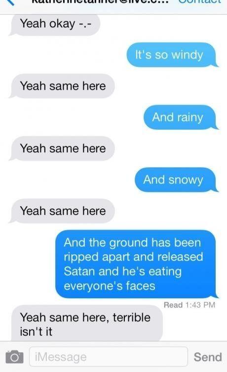 girlfriend read my texts