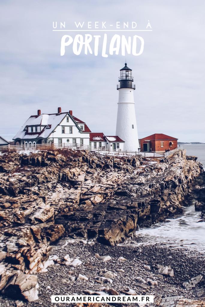 Etats Unis Maine 2 Jours A Portland Our American Dream En 2020 Voyage Amerique Paysage Etats Unis Portland Dans Le Maine
