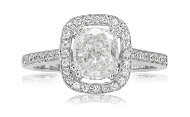 Dreaming of this beautiful cushion cut Engagement Ring from Anthonys Fine Jewellery.