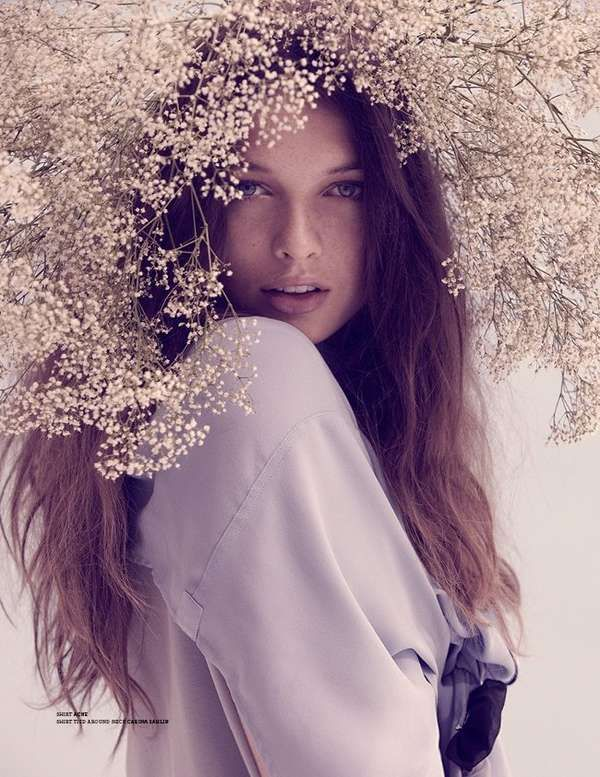stockholm spring/ summer 2011 5  #Flowers in her #hair ☮k☮ your