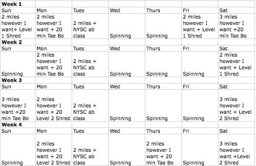 Back Workout Schedule
