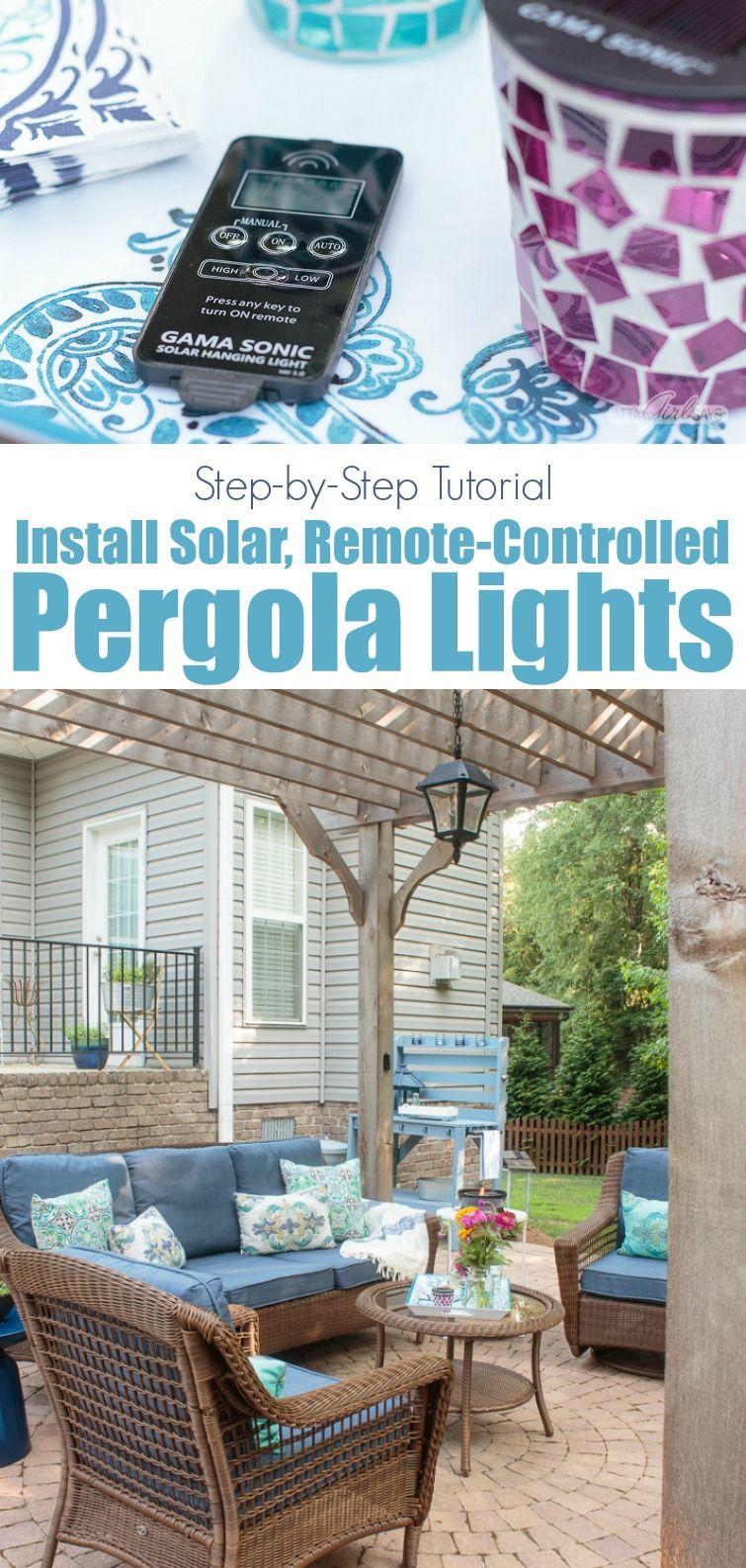 Outdoor Solar Lighting for Pergolas, Porches & Gazebos | OGT Blogger ...